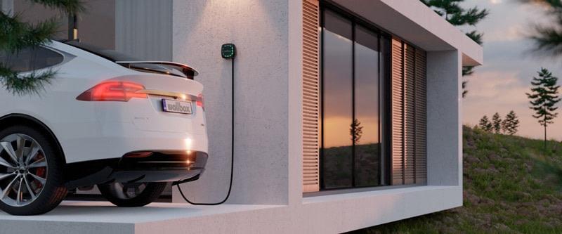 Wallbox Pulsar Plus Residential tesla